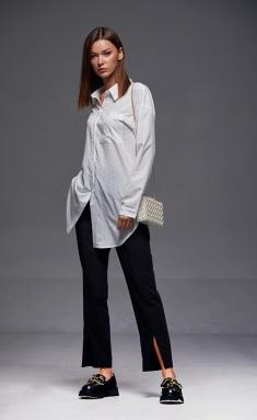 Shirt Andrea Fashion AF-178 moloko (print serdce)