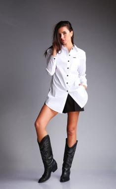 Shirt Andrea Fashion AF-178 belyj