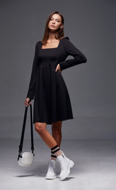 Dress Andrea Fashion AF-179 chyornyj