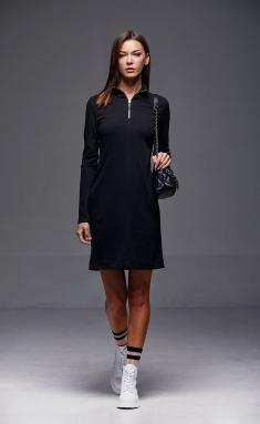 Dress Andrea Fashion AF-185 chern