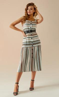 Dress Andrea Fashion AF-20 bezh