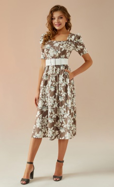 Dress Andrea Fashion AF-24 bezh