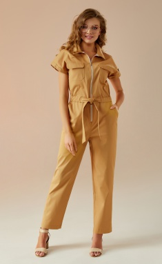 Overall Andrea Fashion AF-26 bezh