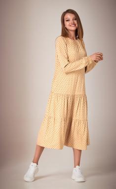 Dress Andrea Fashion AF-28/4 gorox bezh