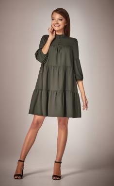 Dress Andrea Fashion AF-34 xaki