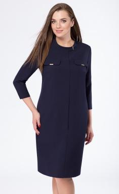 Dress Sale B-1664 temno-sin