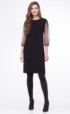 Dress Linia L B-1694 chern
