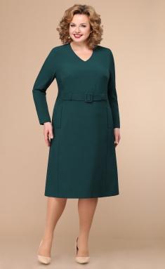 Dress Linia L B-1783 zeleno-sin temnyj