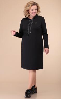 Dress Linia L B-1825 chern
