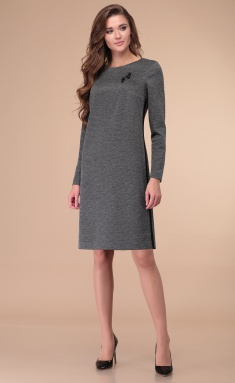 Dress Linia L B-1836 ser print