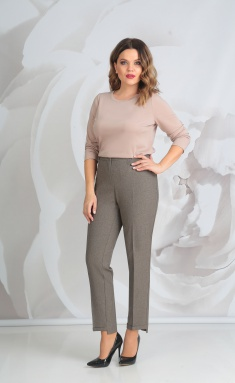 Trousers Golden Valley 16239 sv.korichn