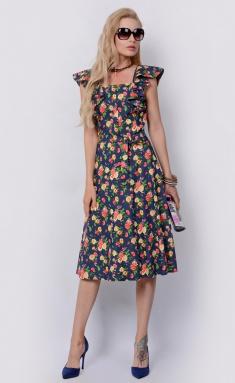 Dress La Café by PC F14864 indigo,kr,zel