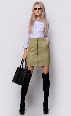 Skirt La Café by PC C14880 oliv