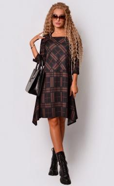 Dress La Café by PC C15147 chern,korichn