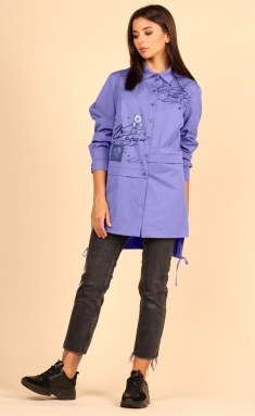 Blouse Faufilure S879 fiol