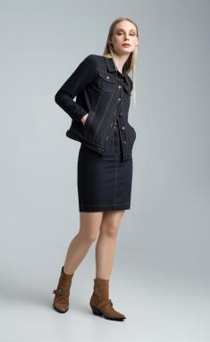 Skirt MARIKA 401/2 chern.dzhins