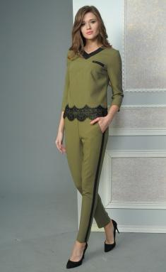 Suit Lady Style Classic 1438 oliv-zel