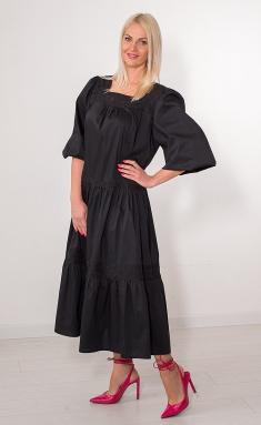 Dress Avila 0855 chyornyj