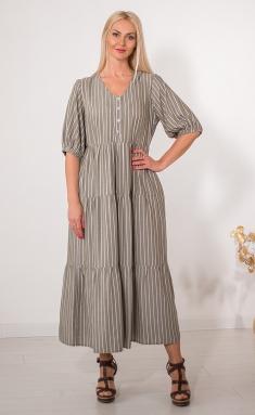 Dress Avila 0856 oliv