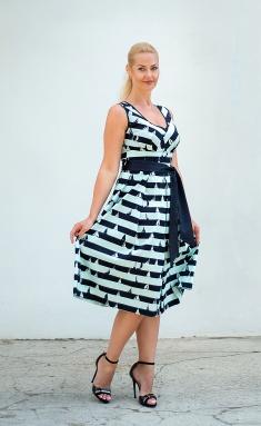 Dress Avila 0795 biryuzovyj