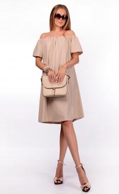Dress Sale F14264 bezh