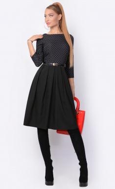 Dress La Café by PC F14641 chern,shampan,chern