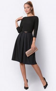 Dress La Café by PC F14641 chern,shampan