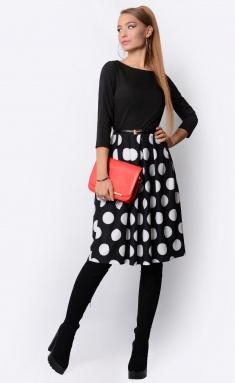 Dress La Café by PC F14641 glubokij chern,bel