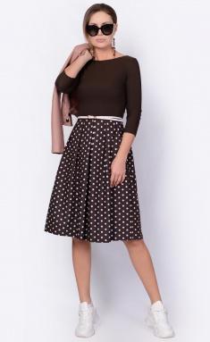 Dress La Café by PC F14641 korichn,bel