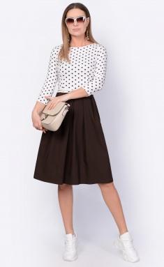 Dress La Café by PC F14641 mol,korichn/mol