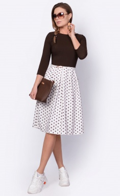 Dress La Café by PC F14641 mol,korichn