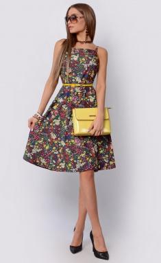 Dress La Café by PC F14788 indigo,kr,bel