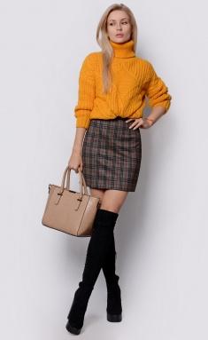 Skirt La Café by PC F14849 bezh,chern,kr