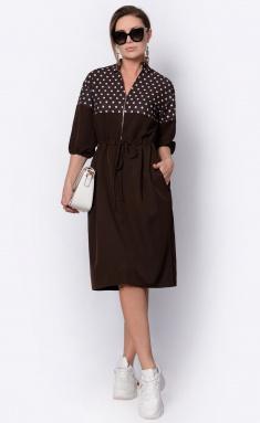 Dress La Café by PC F14995 korichn,bel