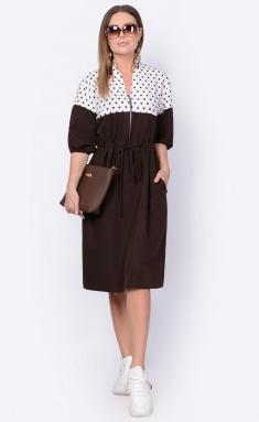 Dress La Café by PC F14995 mol,shokoladnyj