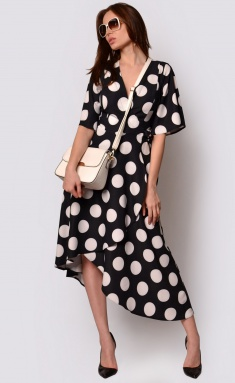 Dress La Café by PC F15009 chern,bel
