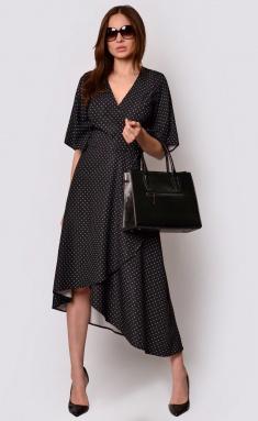 Dress La Café by PC F15009 is.chern,slonovaya kost