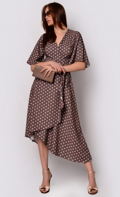 Dress La Café by PC F15009 mokko,bel