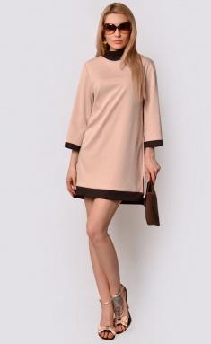 Dress La Café by PC F15026 bezh,korichn
