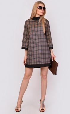 Dress La Café by PC F15026 chern,bezh,kr