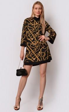 Dress La Café by PC F15026 chern,zheltyj