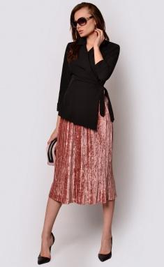 Dress La Café by PC F15048 chern,roz