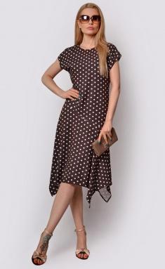 Dress La Café by PC F15058 korichn,bel