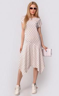 Dress La Café by PC F15058 myagkij,bel,korichn