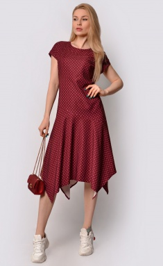 Dress La Café by PC F15058 vin,bel
