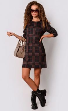 Dress La Café by PC F15096 chern,korichn