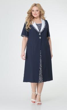 Dress Trikotex-Style M 83-17 sinij