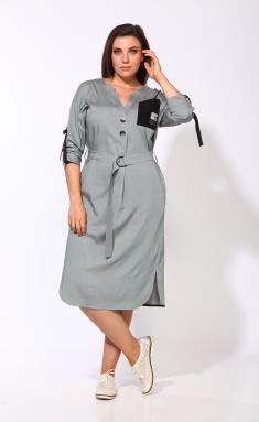 Dress KARINA DELUX M-9903zelenyj