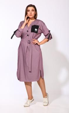 Dress KARINA DELUX M-9903lilovyj