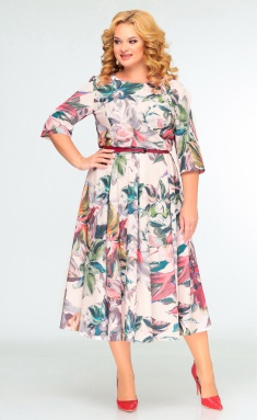 Dress SWALLOW 0397 bezh